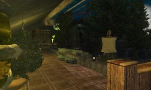 Przed walką Zefir potrzebuje odrobiny spokoju dlatego chętnie ukrywa się w swoim wspaniałym ogrodzie.