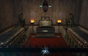 Zefir postanowił uhonorować swych przodków urządzając dla nich kaplicę.