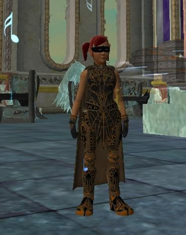 Xanthippe ubrana w set Sinister z przepisów dostępnych w Haloween.
