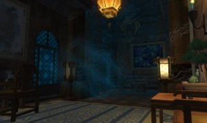 Zaciszna sypialnia Zefira, w której to przyjmuje damy swego serca.