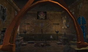 Liczne trofea zgromadzone w pokoju świadczą o walczności i odwadze Zefira.