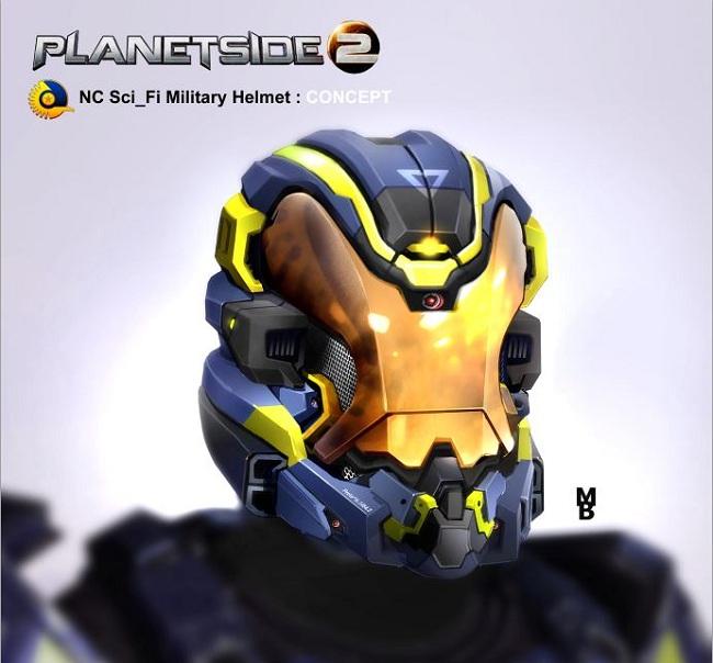 Nc sci fi helmet