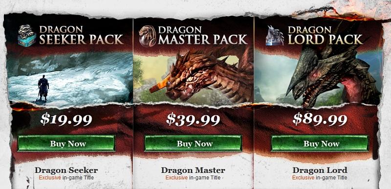 dragon pack soe