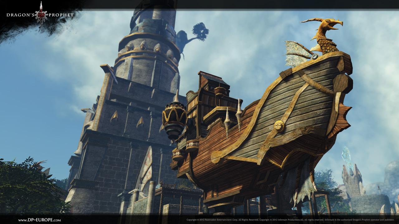 dragonsprophet ship