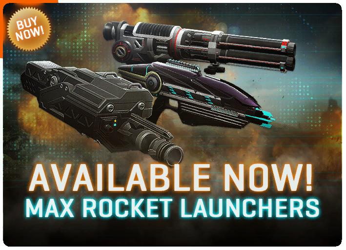 MAX rocker launchers