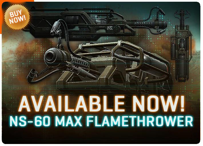 NS-60 Flamethrower