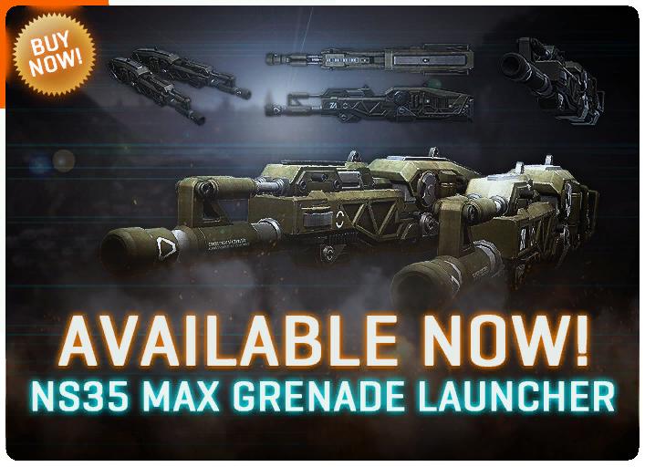 NS35 MAX Grenade Launcher