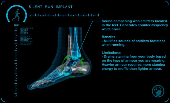 Silent Run Implant