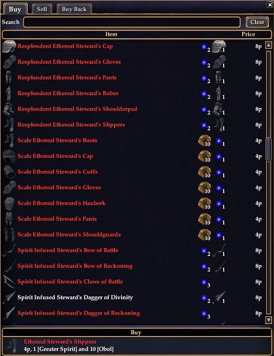 T2 drinal armor