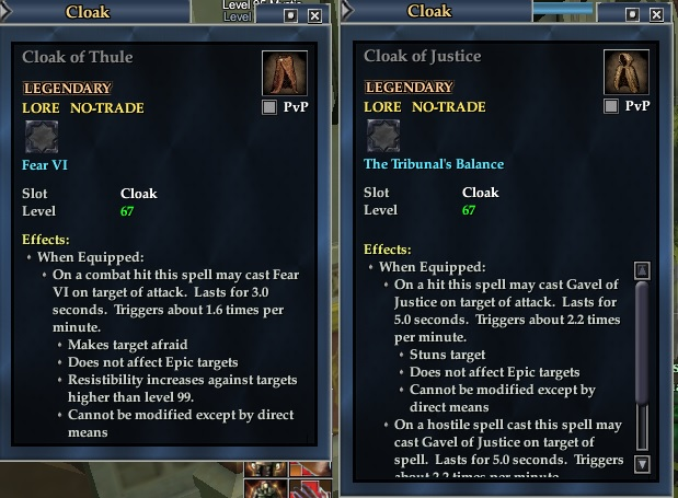 cloaks PvP
