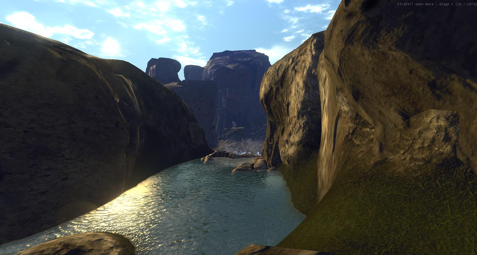 woda w gorach
