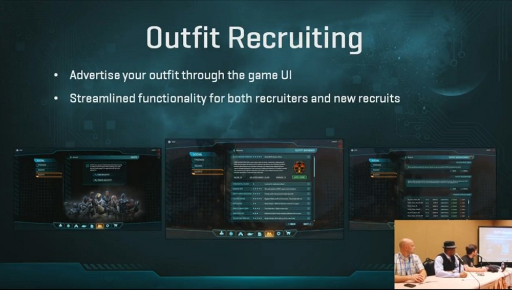 outfit recruitment