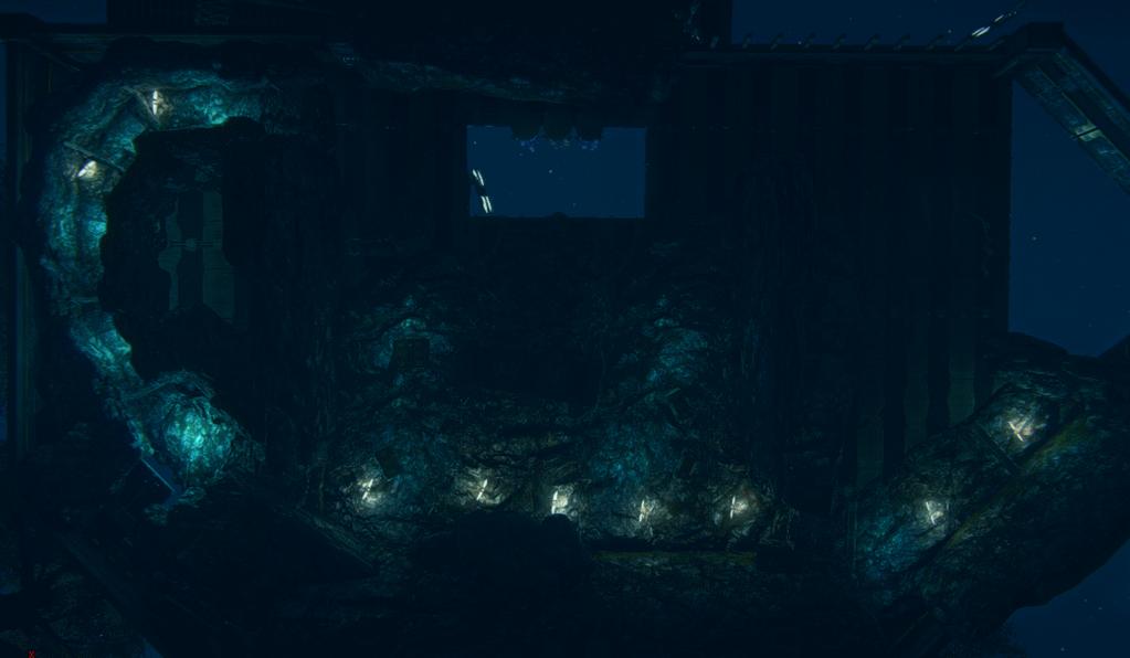 2013_10_20 amerish revamp hidden ridge mining widok spod kopalni