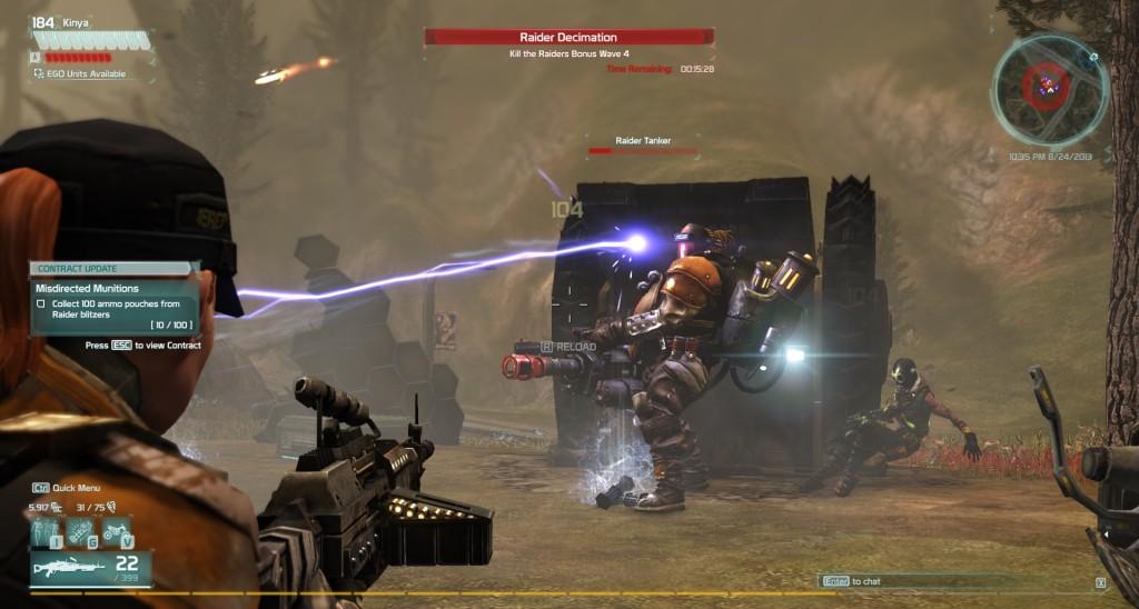 Defiance Raider Arkfall