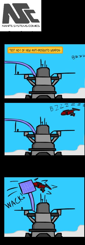 komiks 7 komar