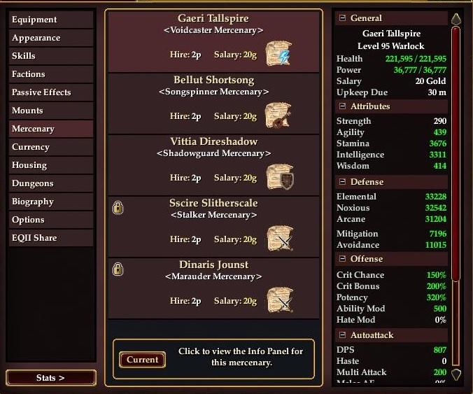 mercenary unlock 3