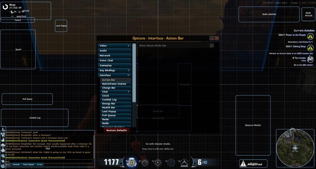 zmiana w UI Firefall