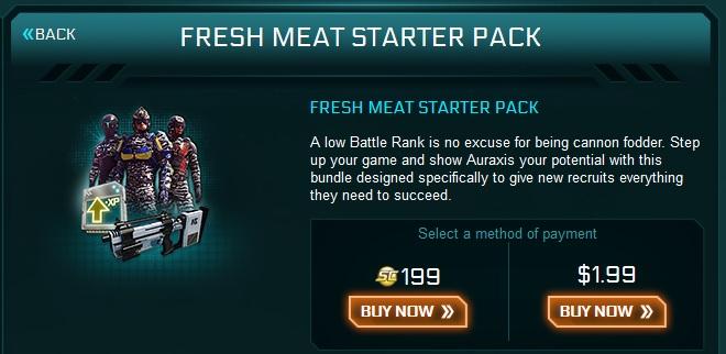 2013_11_27 Fresh meat starter pack