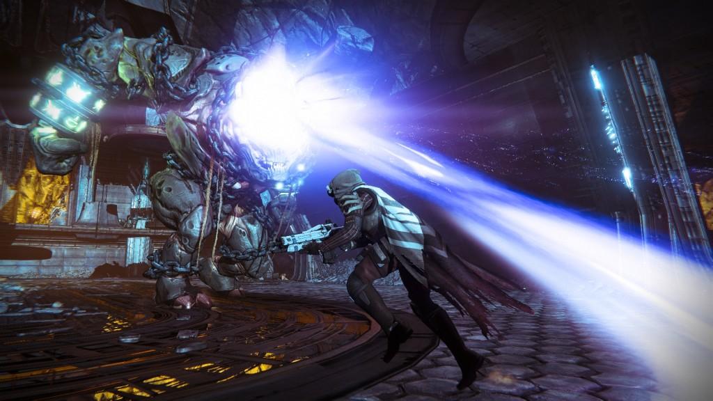 Destiny walka z bossem