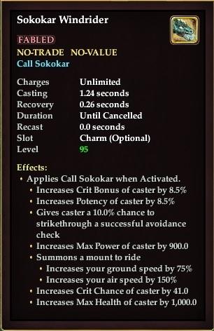 EQ2_ToV Signature reward sokokar