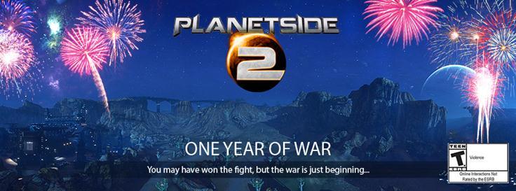 Planetside 2 anniversary