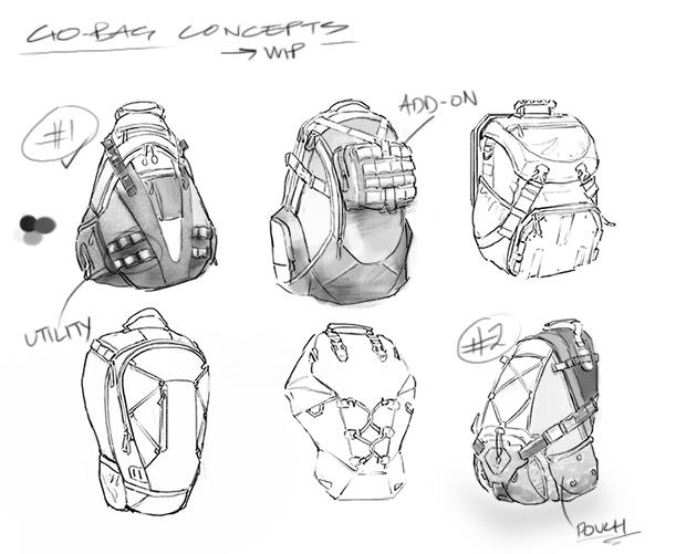 The Division plecak go-bag