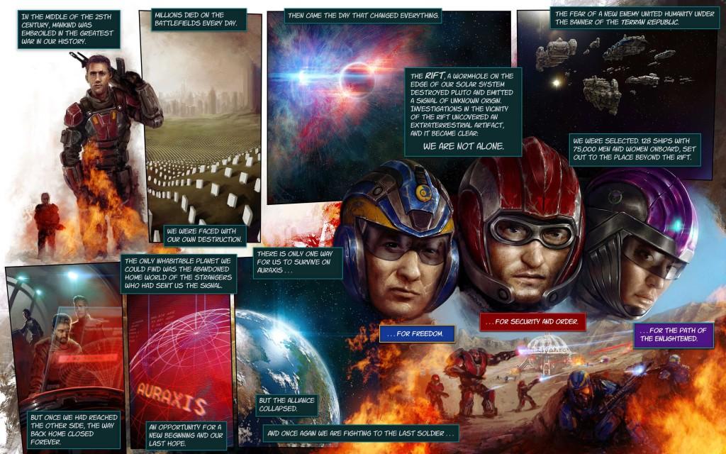 planetside 2 warstory history of war