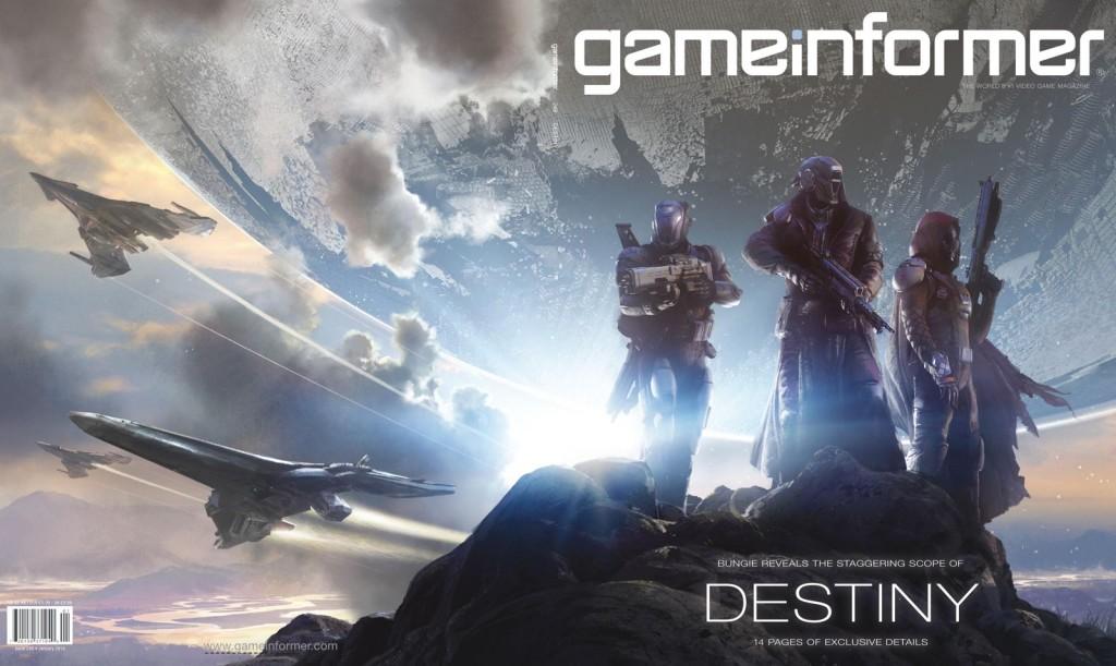 2013_12_04 Gameinformer okladka Destiny