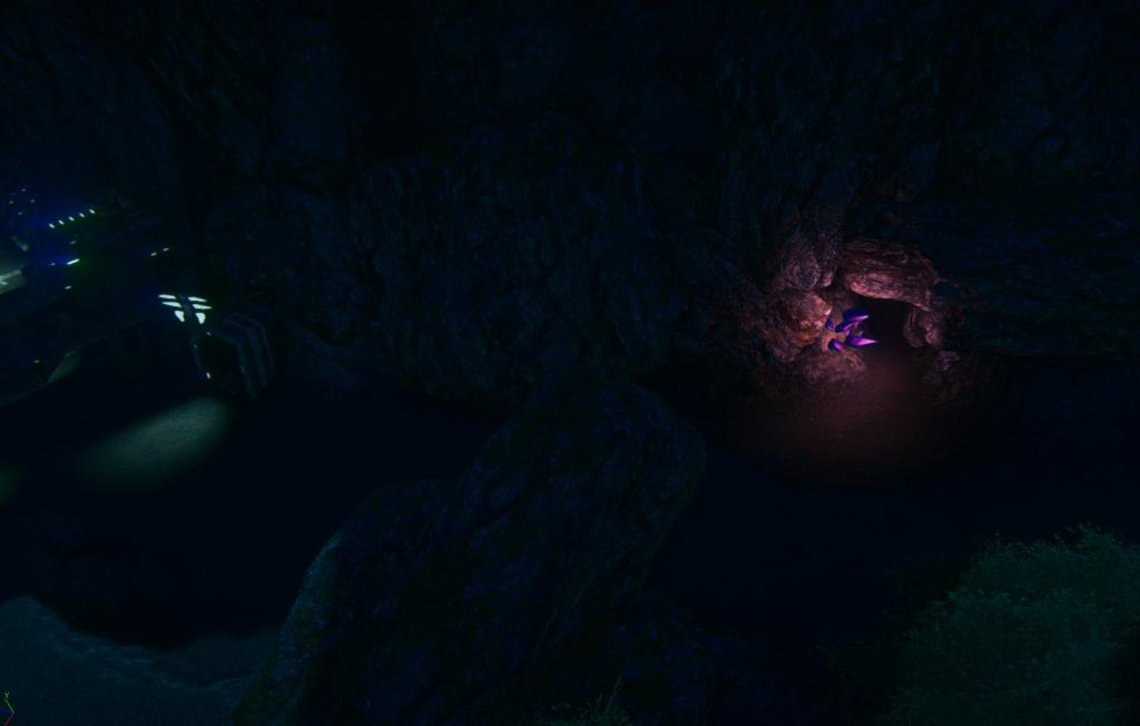 2013_12_25 Amerish Ascent east i cave w nocy