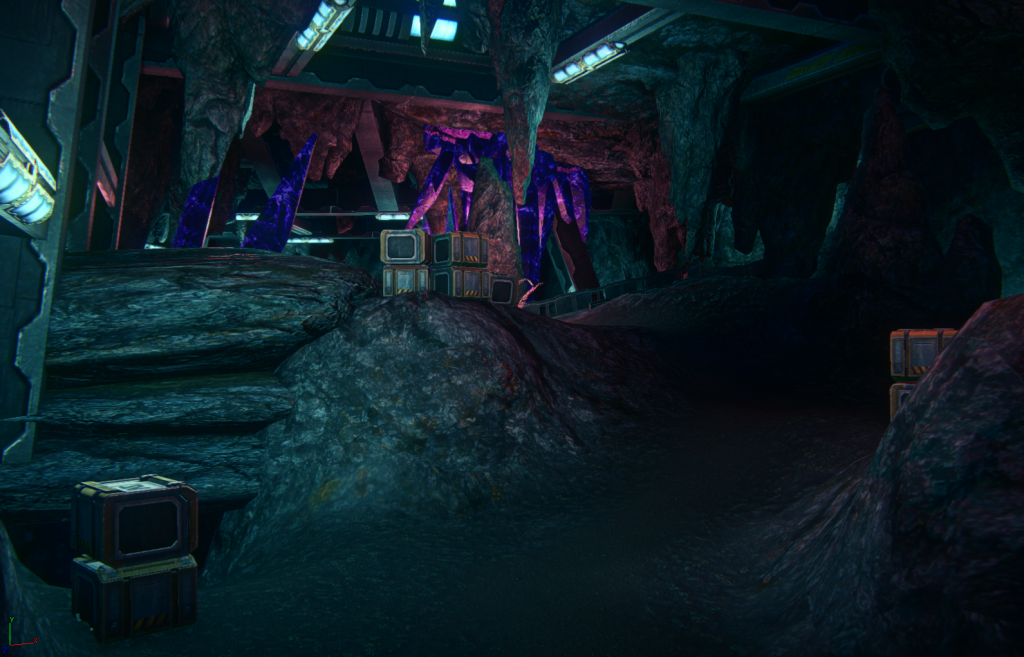 2013_12_25 Amerish Ascent sekretne widok na jaskinie
