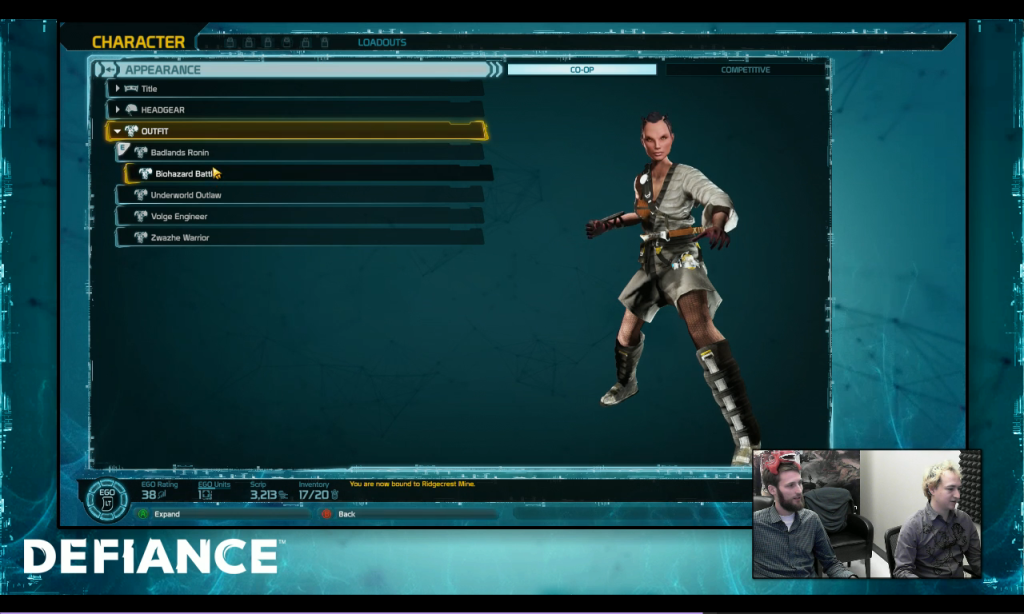 Defiance_DLC3_ronin outfit