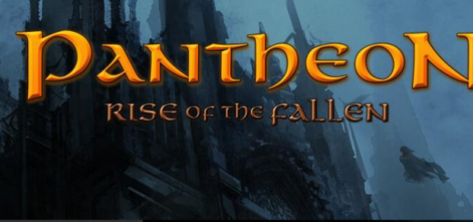 Pantheon Rise of the Fallen MMO logo