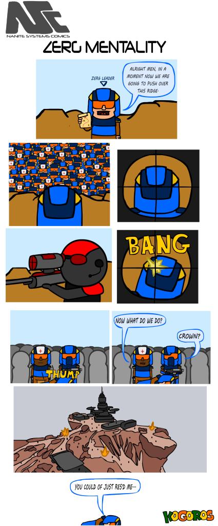 komiks 23 - zerg