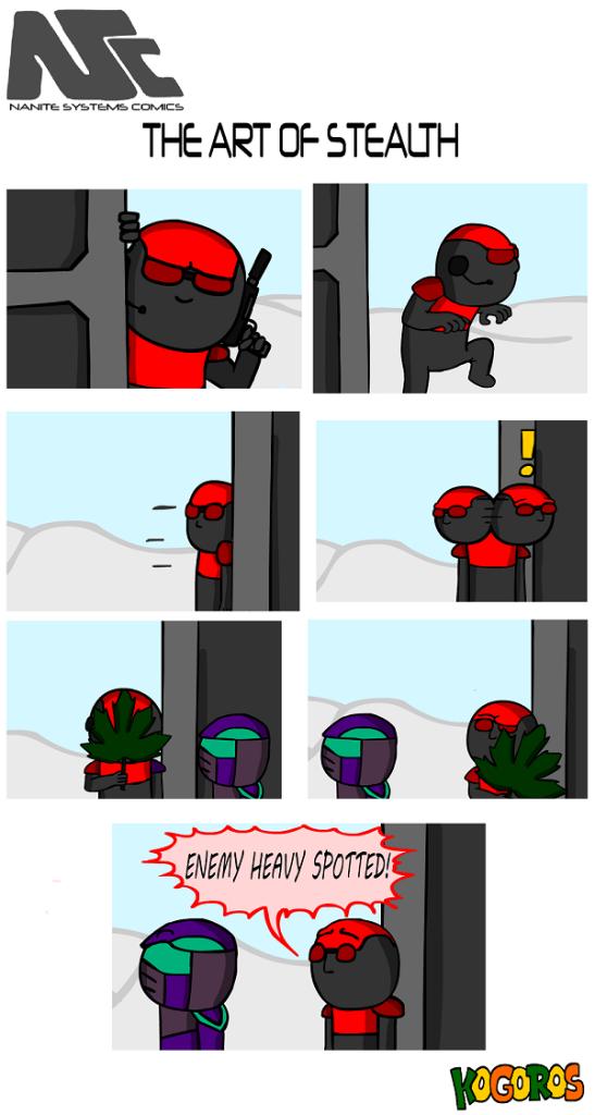 komiks 24 - sztuka skradania się