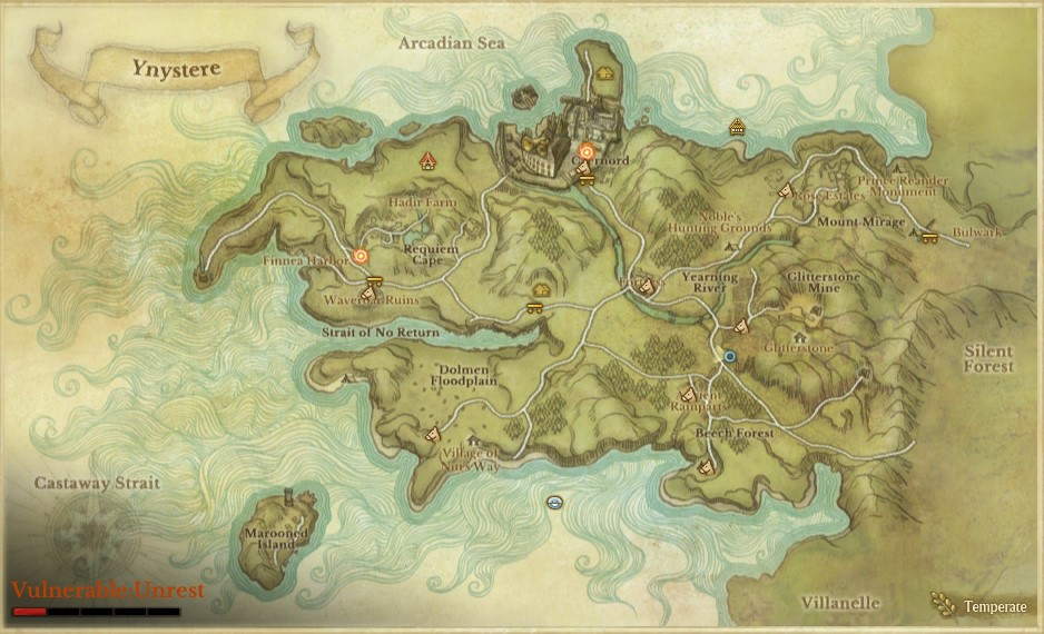 ArcheAge mapa