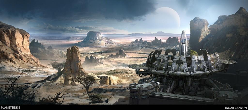 Planetside 2 concept art 7 Indar