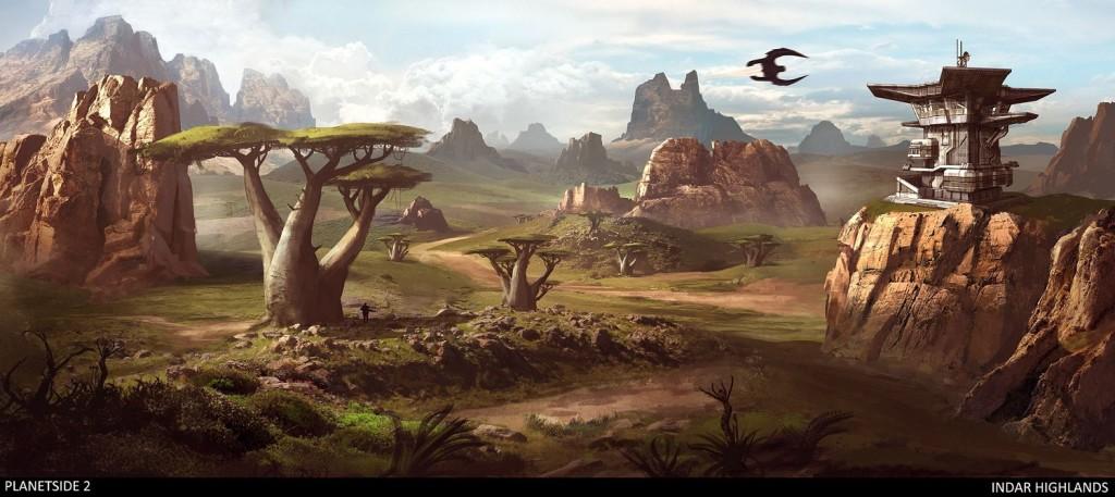 Planetside 2 concept art 9 Indar