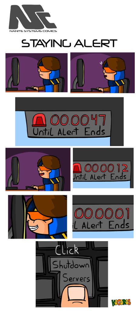 komiks 27 - alert