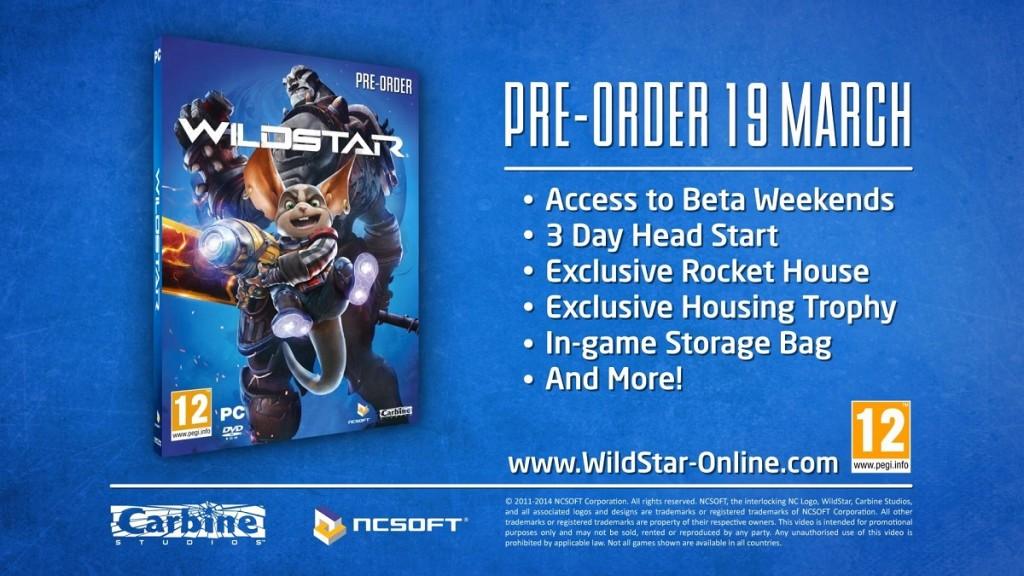 wildstar pre-order