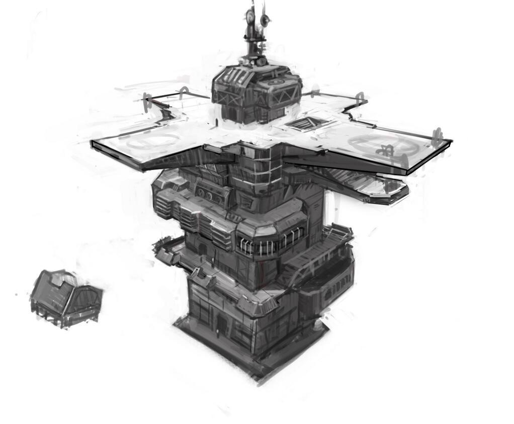 2014_04_20 planetside 2 wieża