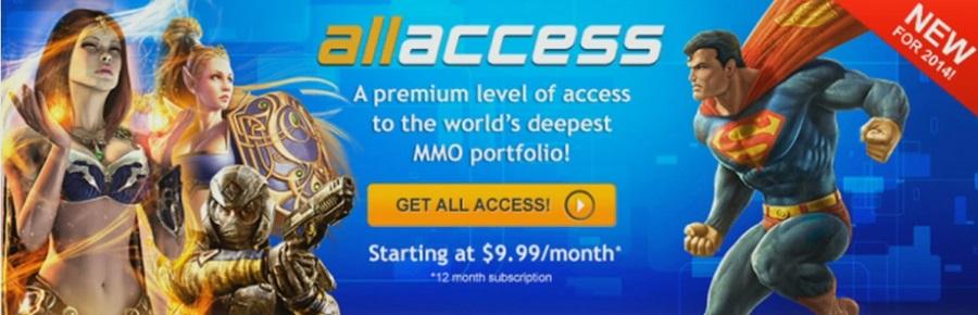 SOE All Access baner