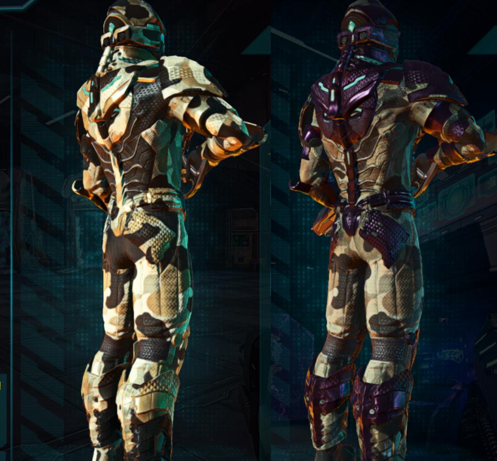 VS HA w Indar Scrub and Standard Armor Rear