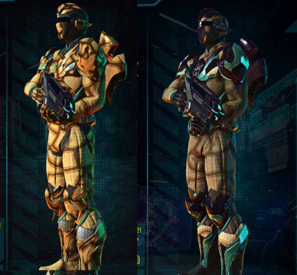 VS LA w Giraffe and Composite Armor