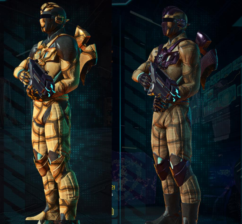 VS LA w Giraffe and Standard Armor