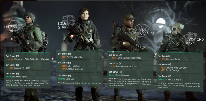 the-division-1-2-gear-set